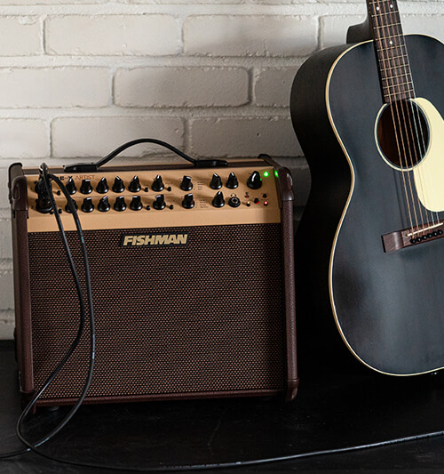 Fishman Loudbox Artist with acoustic