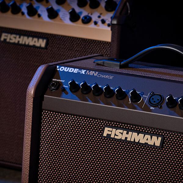 Fishman Loudbox Mini Charge controls