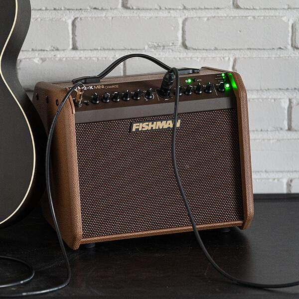 Fishman Loudbox Mini Charge plugged in