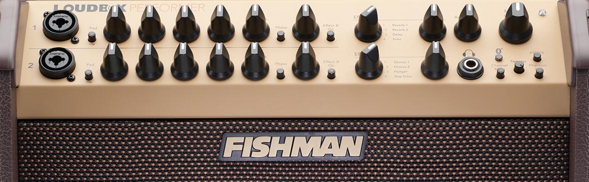 Fishman Loudbox Performer controls