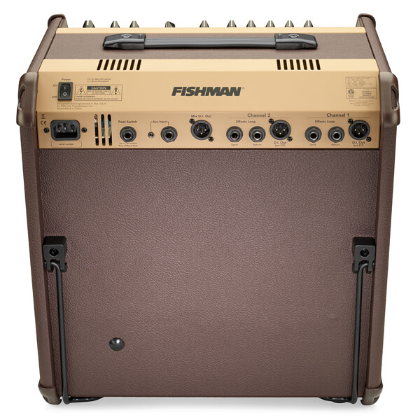 FIshman Loudbox Performer back