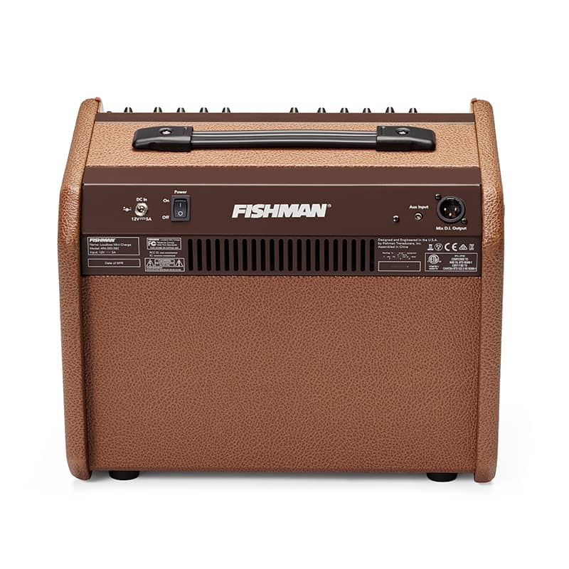 Back view of Fishman Loudbox Mini Charge acoustic amp