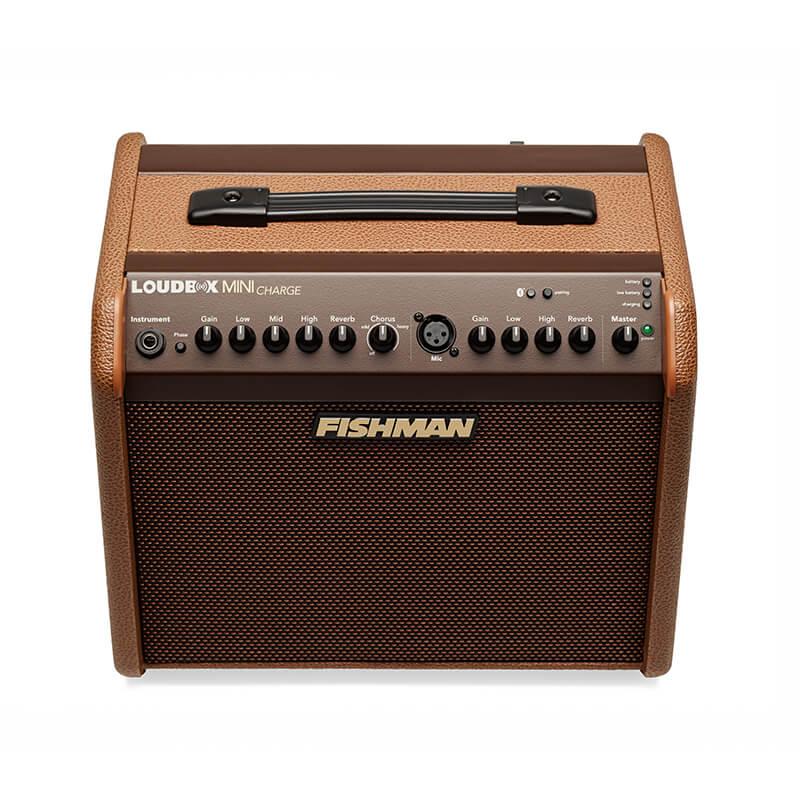 Fishman Loudbox Mini Charge acoustic amp top controls