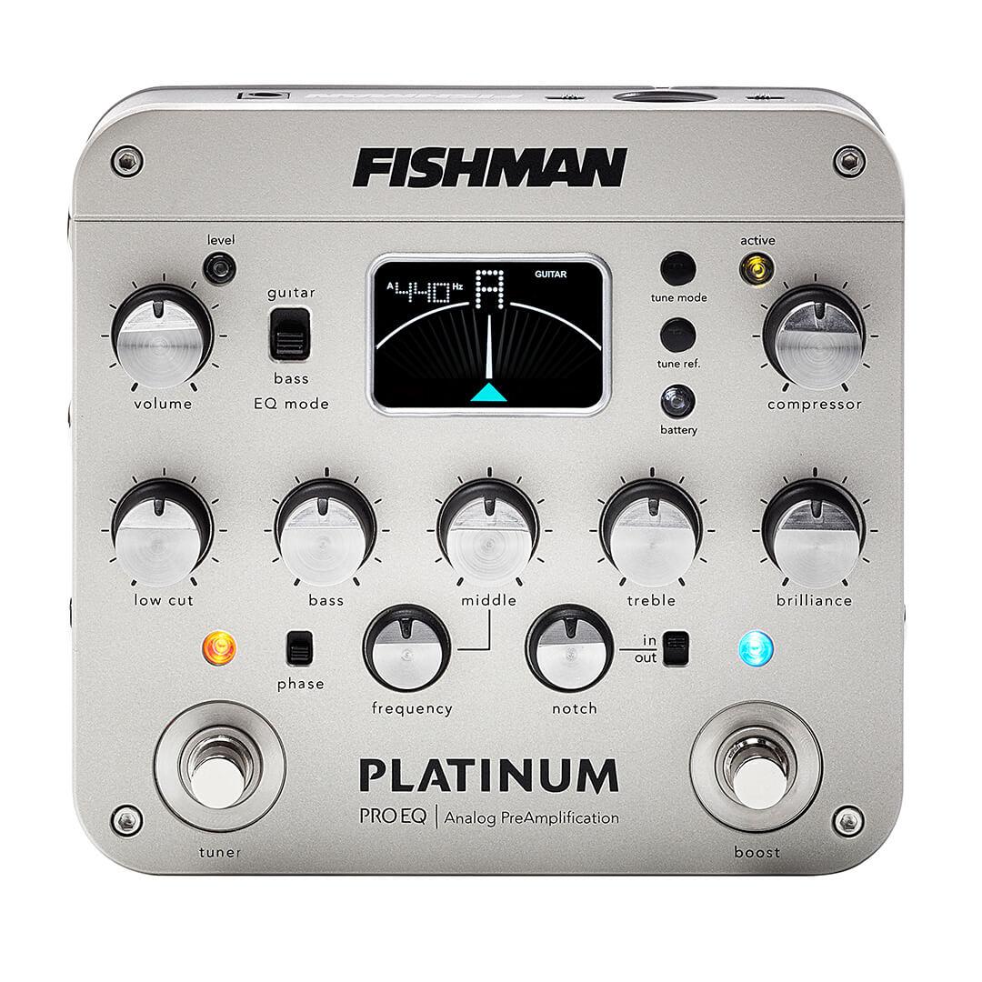 Platinum Pro EQ analog preamp PRO-PLT-201 front