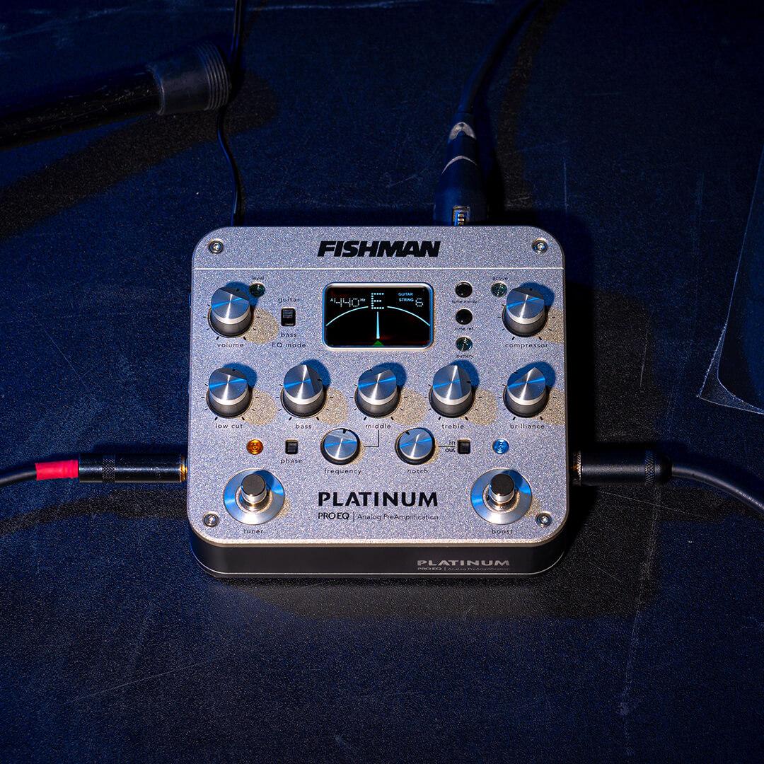 Platinum Pro EQ analog preamp PRO-PLT-201 on stage