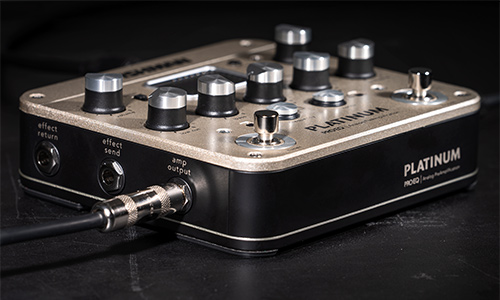 Platinum Pro EQ analog preamp PRO-PLT-201 output