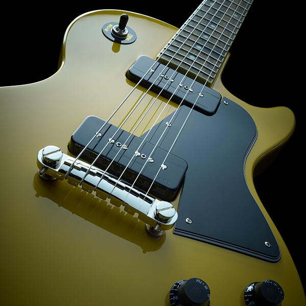 Fishman Greg Koch Gristle Tone P90 black guitar