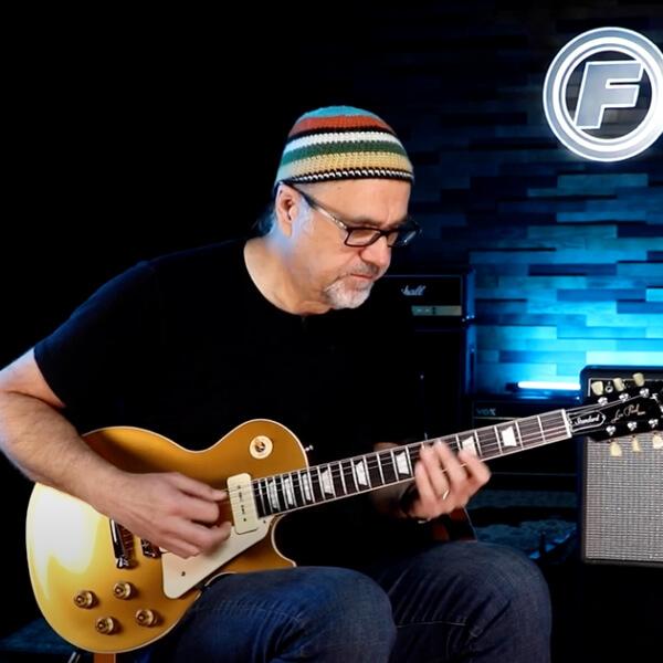 Fishman Greg Koch Gristle Tone P90 demo extended video
