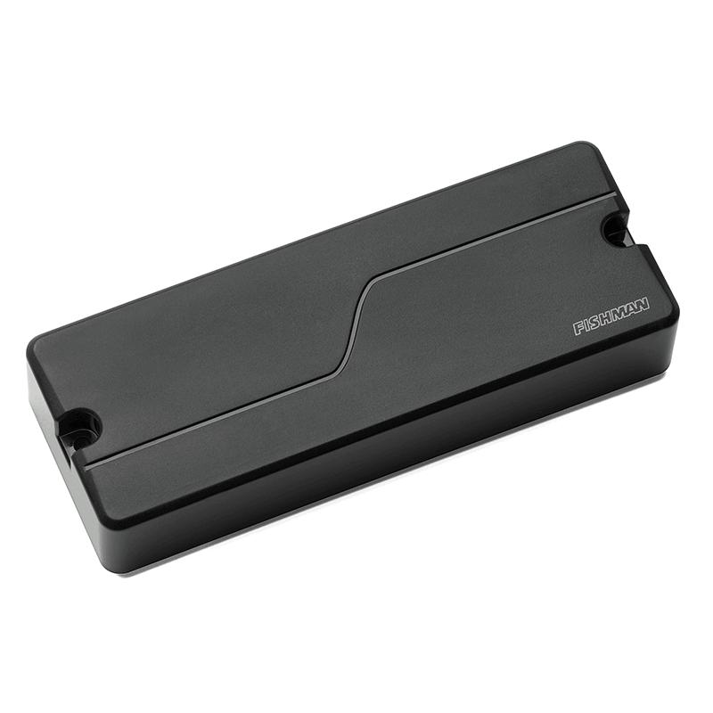 One Fluence 5 string soapbar bass pickup in black