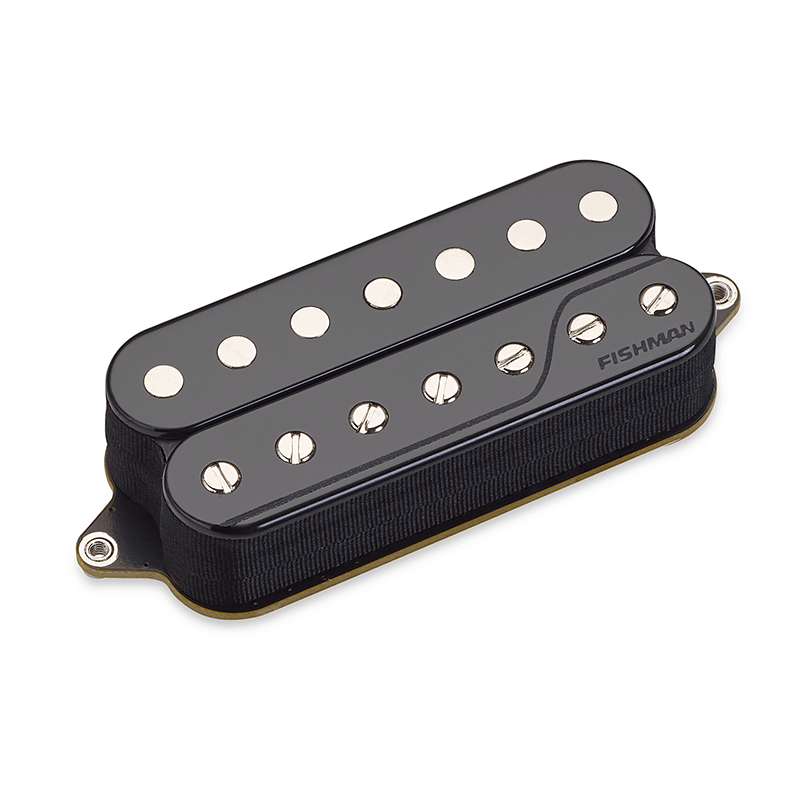 Fluence open core 7 string bridge pickup - black