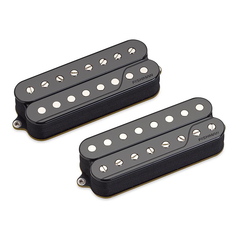 Fluence open core 8 string pickup set - black