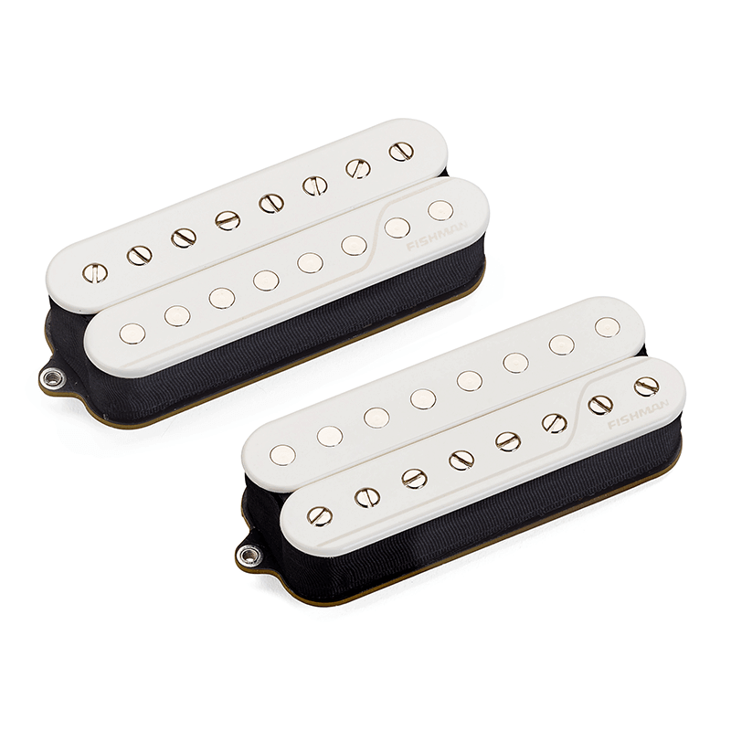 Fluence open core 8 string pickup set - white