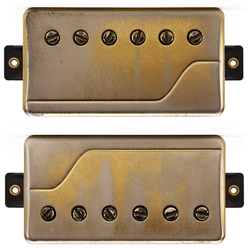 front view of Fluence Signature Series Will Adler pickup set