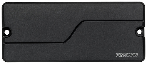 front view of Fluence Legacy Series Mike Inez 4-string bass pickup in black