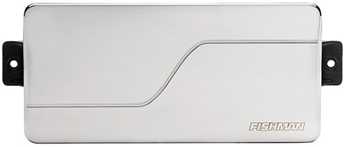 front view of Fluence Modern 7-string pickup in nickel