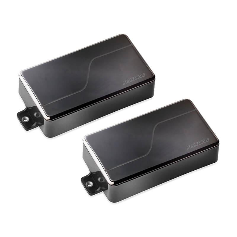 Fluence Modern 6-string pickup set in black nickel