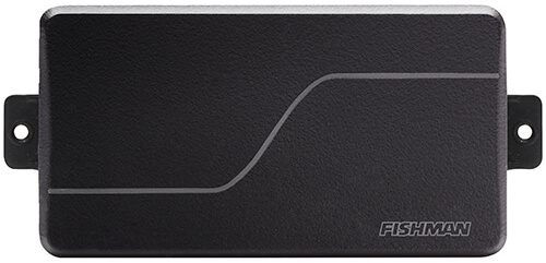 front view of Fluence Signature Series Killswitch Engage black pickup