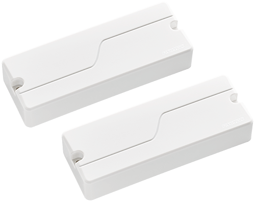 two Fluence Signature Series Tosin Abasi 8-string pickups in white