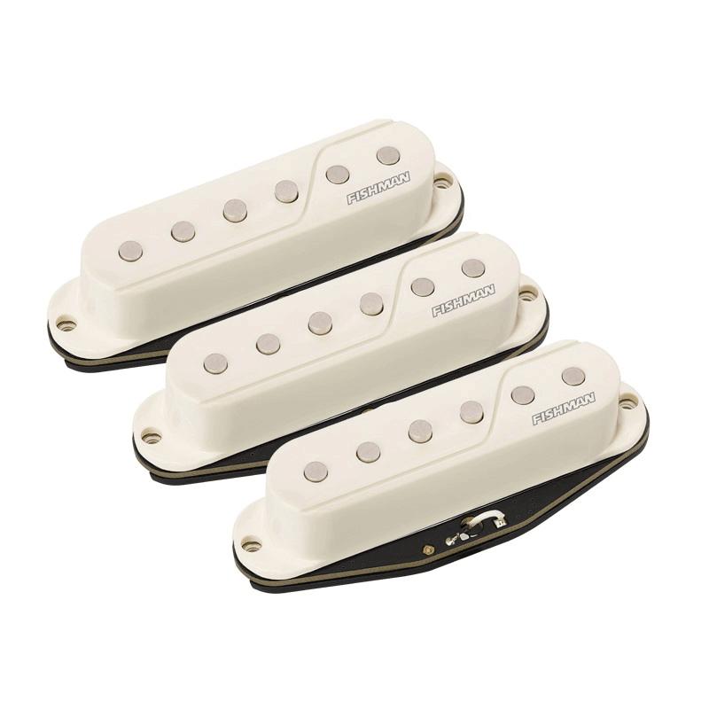 Fluence Single Width Pickup Set For Strat® in white