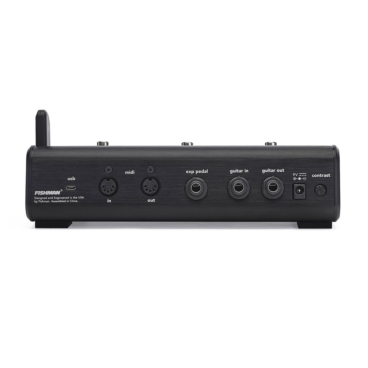 rear view of Fishman TriplePlay FC-1 Controller with inputs
